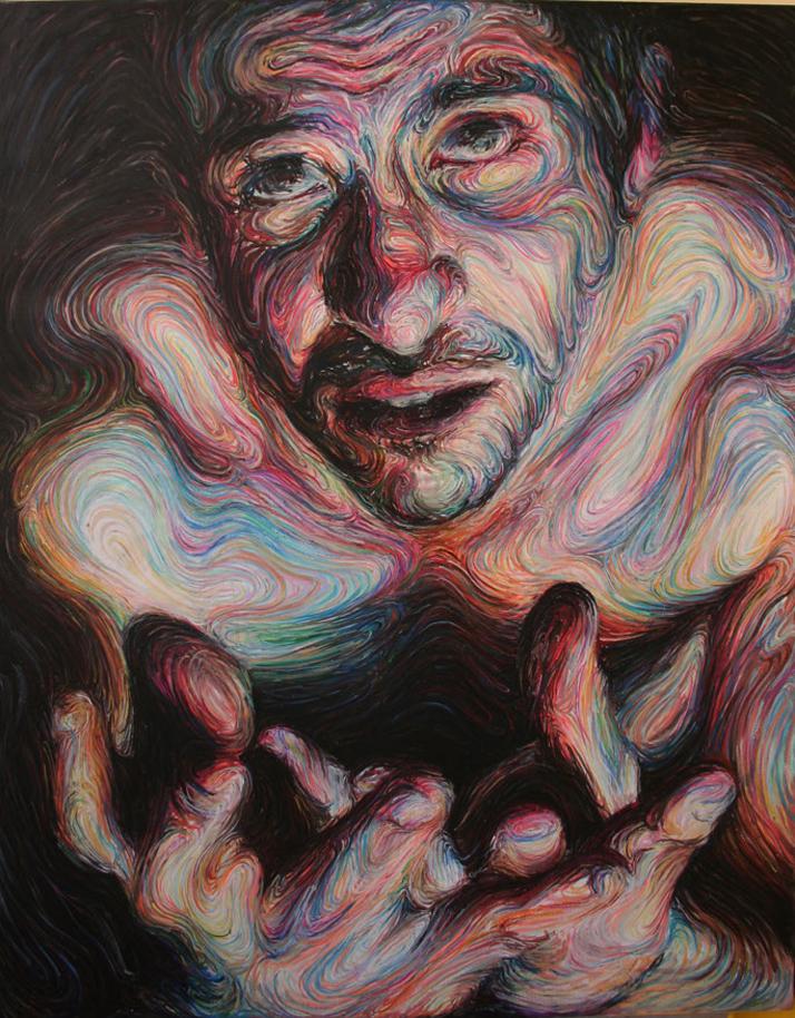 Nikos Gyftakis |mpressionistic self portraits