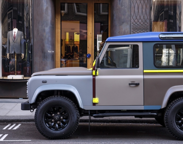 Paul Smith & Land Rover