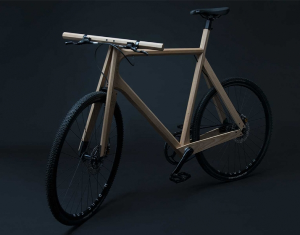 The Wooden Bike