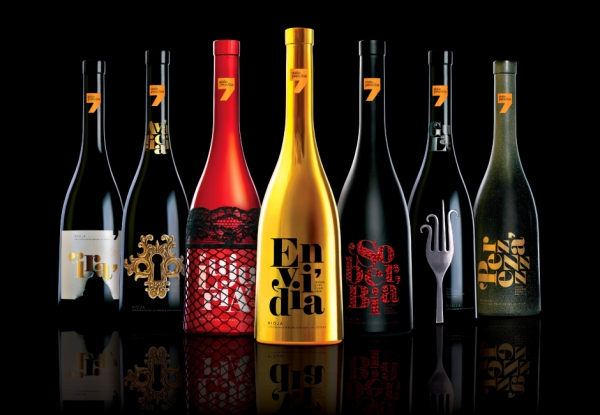 Seven Deadly Sins Wine Series