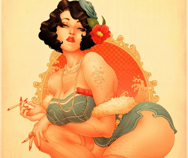 Pinup Illustrations