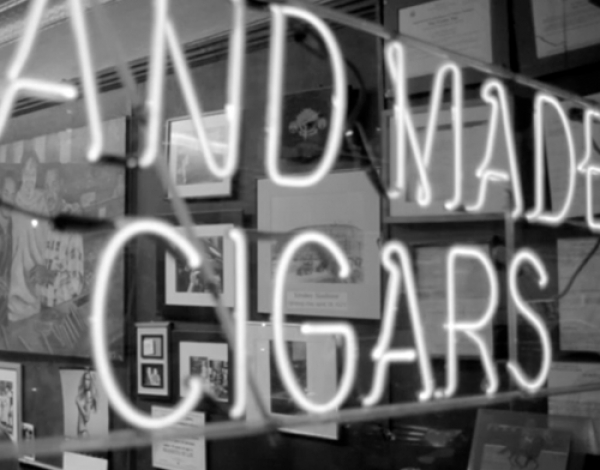 The Cigar Shop - Made by Hand