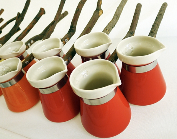 Porcelain Turkish-Coffee Pots