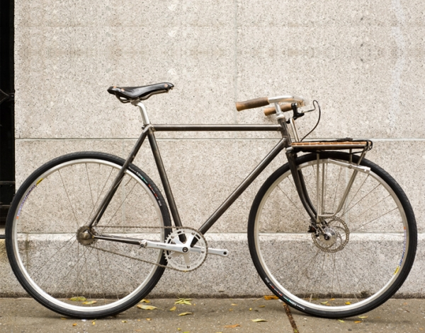 Fixie Porteur by Fast Boy Cycles