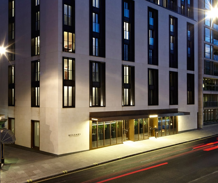 Bulgari Hotel in London