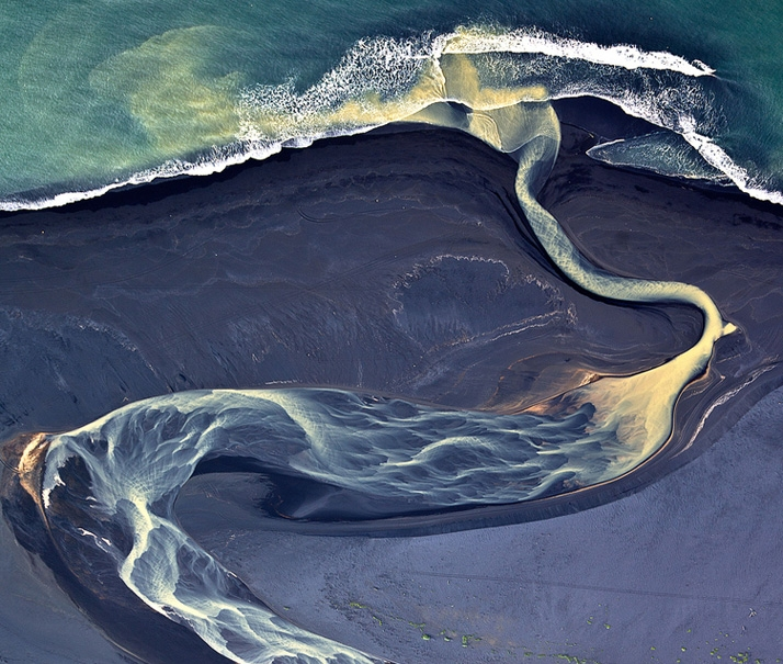 Aerial Photographs of Iceland
