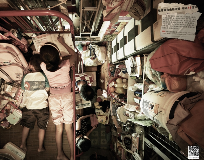Cramped Apartments in HK