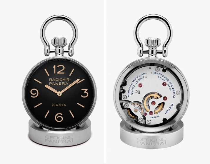Panerai 8 Days Table Clock