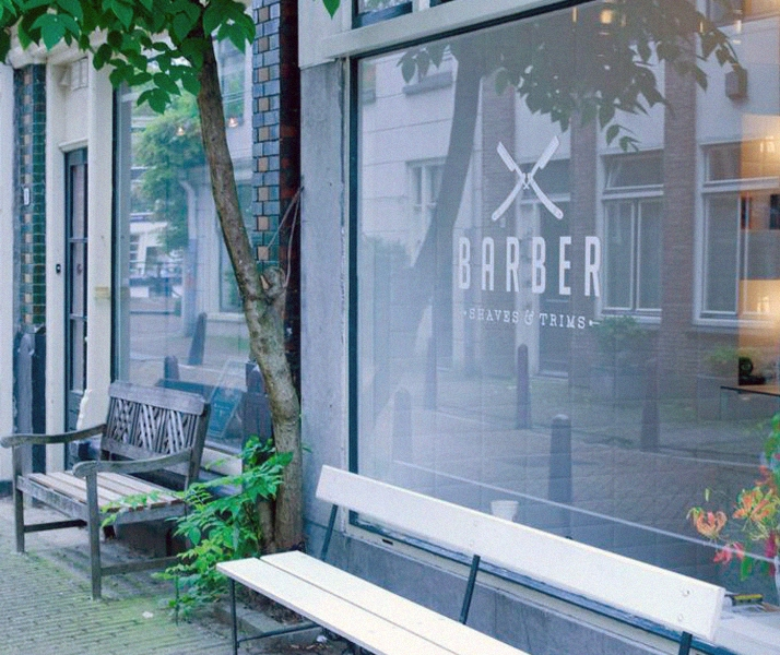 Barber in Amsterdam